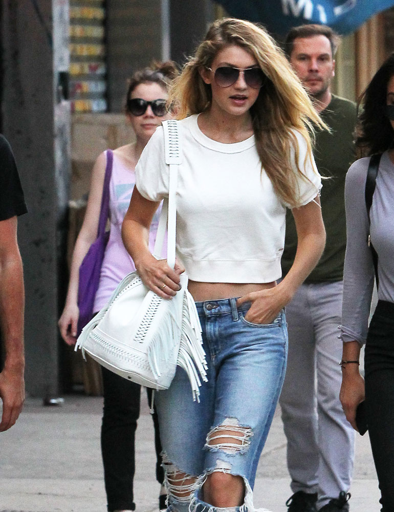 Gigi-Hadid-Fringe-Bucket-Bag