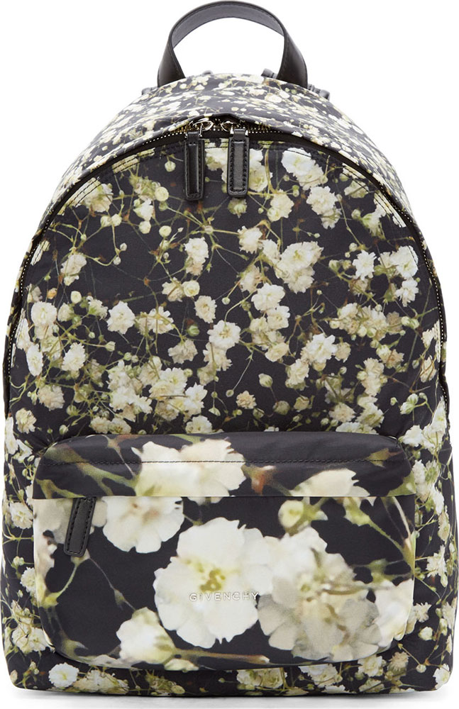 Givenchy-Floral-Backpack