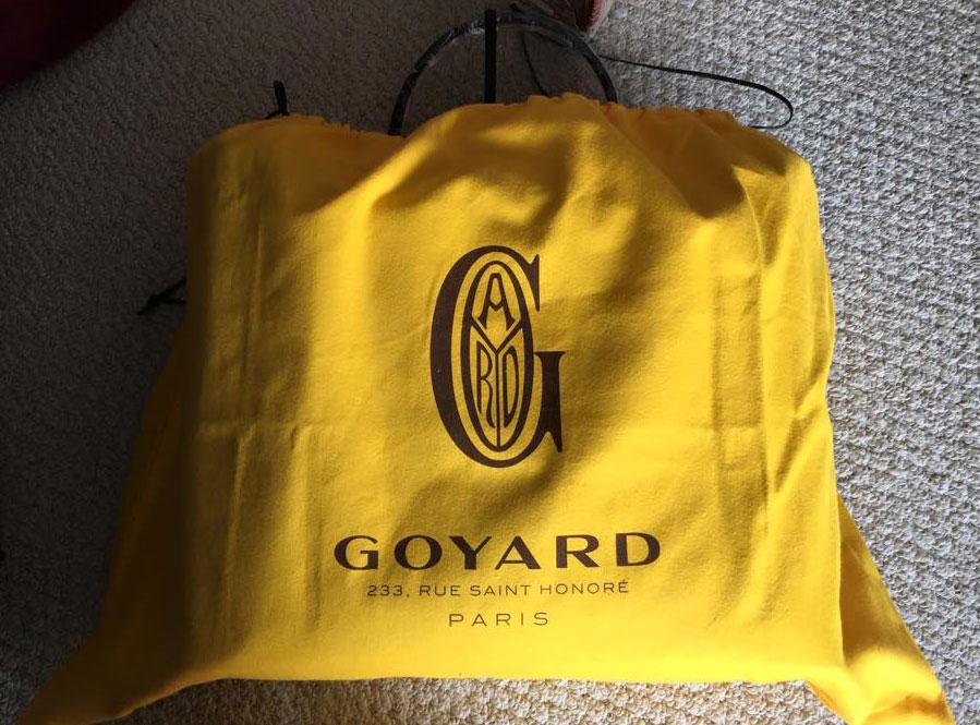 Goyard-Dustbag