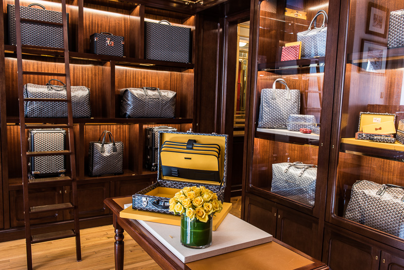 A Look Inside Goyard S New Home In New York City Purseblog