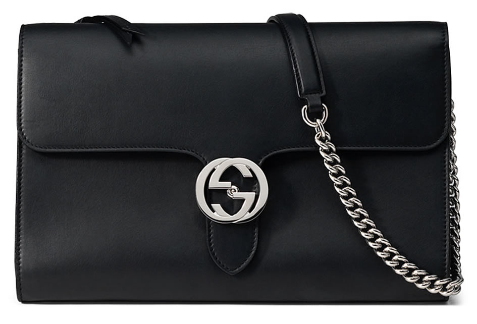 Gucci Interlocking Bag Black