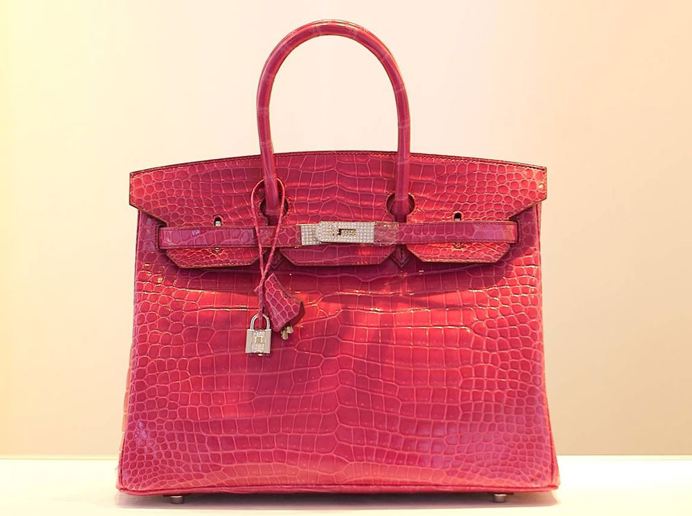 hermes bag auction