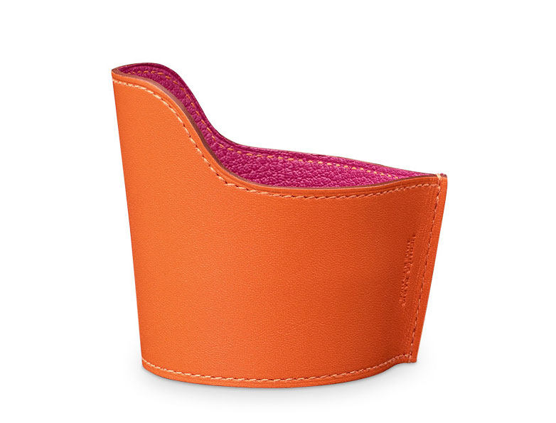 Hermes-Leather-Cup-Holder