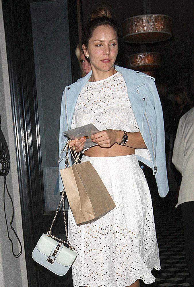Katharine-McPhee-Valentino-Lock-Shoulder-Bag