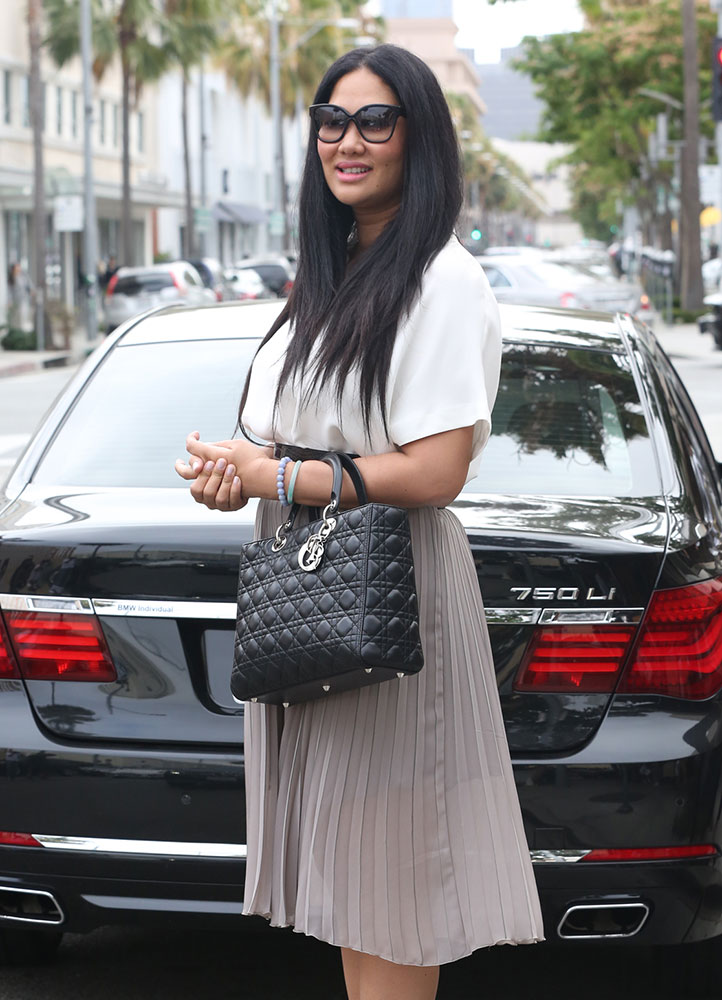 Kimora-Lee-Simmons-Christian-Dior-Lady-Dior-Bag