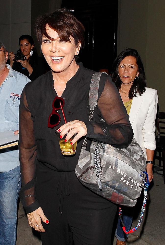 Kris-Jenner-Chanel-Graffiti-Backpack