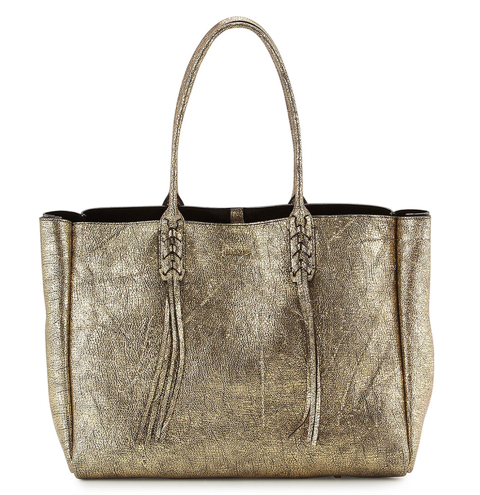 Lanvin-Metallic-Crinkled-Leather-Tote
