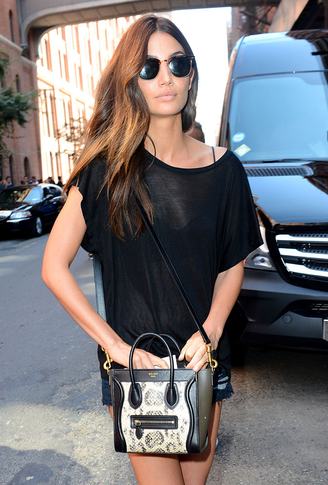 how much is a celine handbag - 45 Photos of Gorgeous Supermodels and Their Fabulous Handbags ...