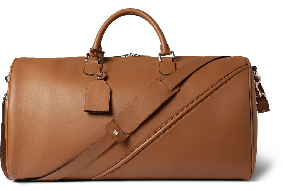 Loewe-Leather-Duffel-Bag