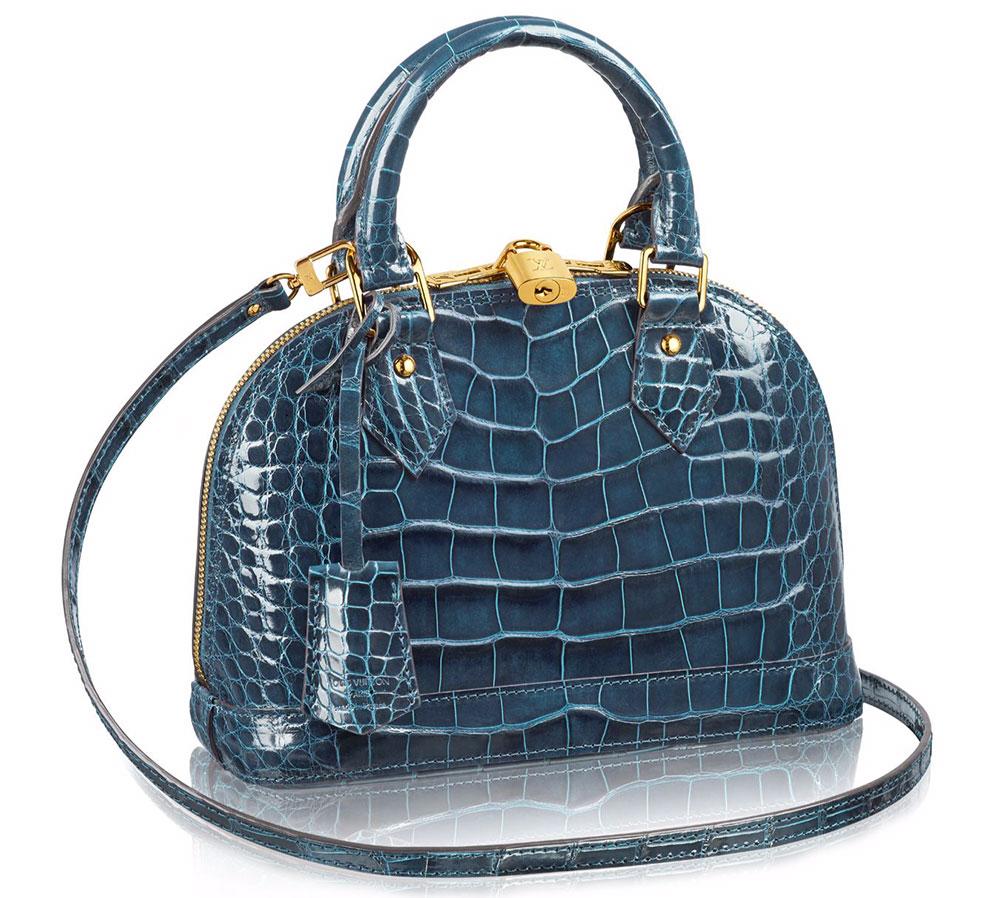 Louis-Vuitton-Alma-Bag-BB-Crocodile