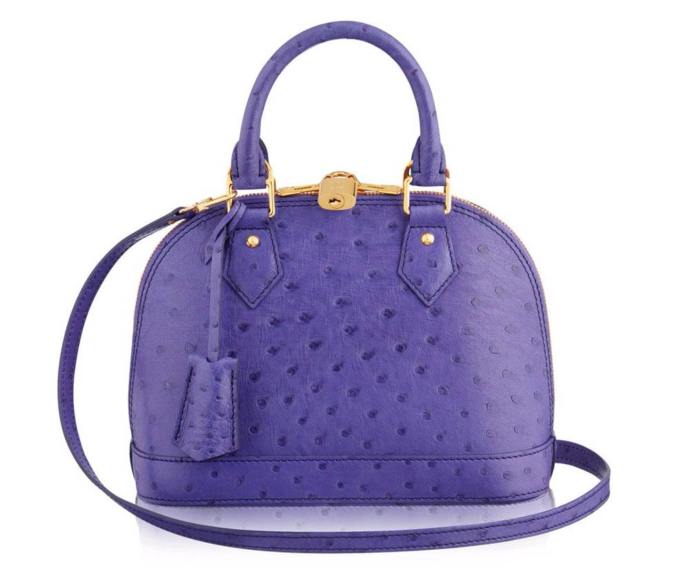 Louis-Vuitton-Alma-Bag-BB-Ostrich