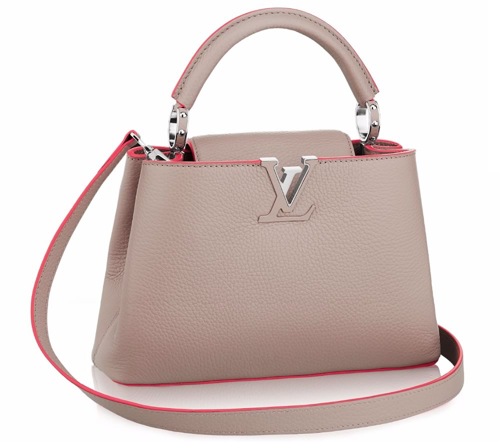 Louis Vuitton Capucines BB blush and pink