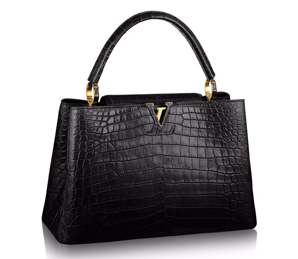 Louis-Vuitton-Capucines-Bag-MM-Crocodile-Black