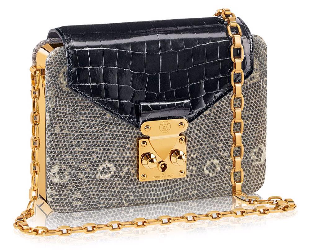 Louis-Vuitton-Minaudiere-Coffre-Bag-Lizard-and-Crocodile