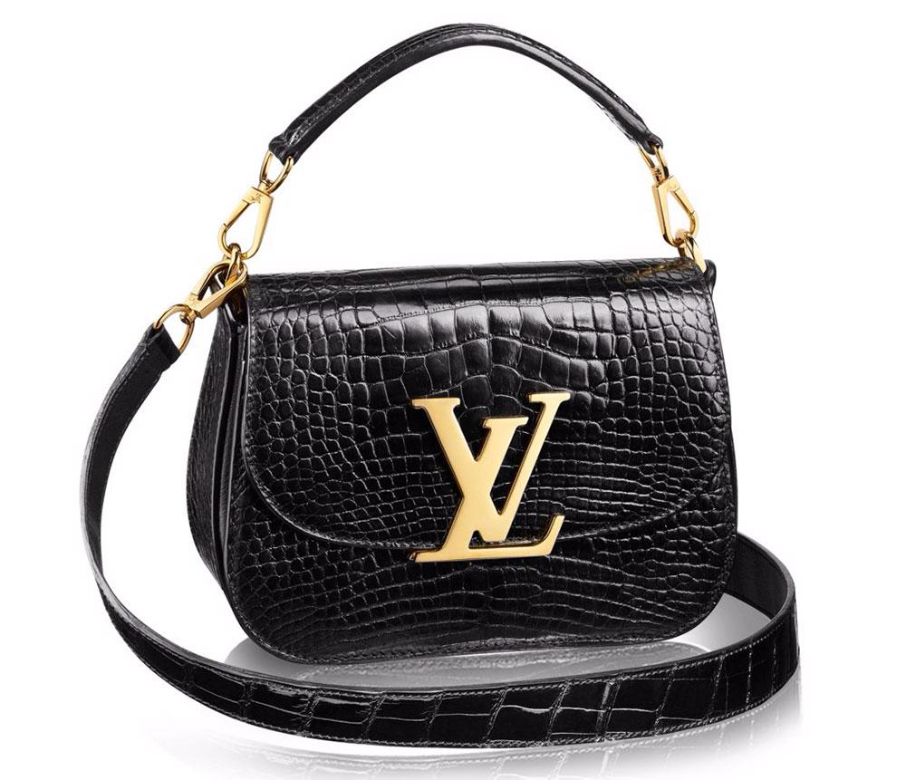 Louis-Vuitton-Vivienne-LV-Crocodile-Bag