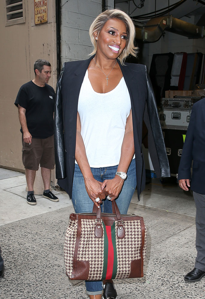 Nene-Leakes-Gucci-Seventies-Houndstooth-Tote