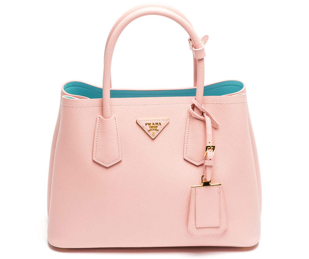 0e9d2acbd1f7 The Stunning Colors of the Prada Double Bag in Saffiano Cuir for ...