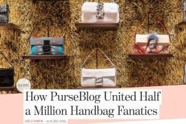 PurseBlog in the Press: Racked Ladies Who Launch