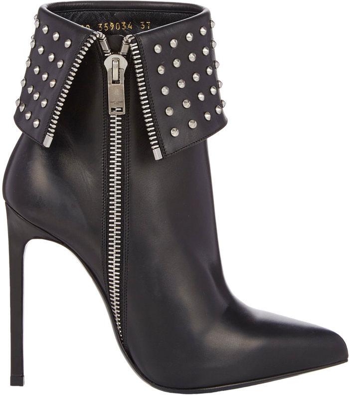 Saint-Laurent-Studded-Paris-Ankle-Boots