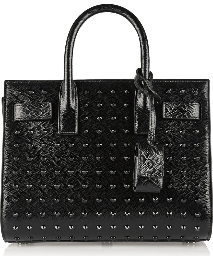 Saint-Laurent-Studded-Small-Sac-de-Jour-Tote