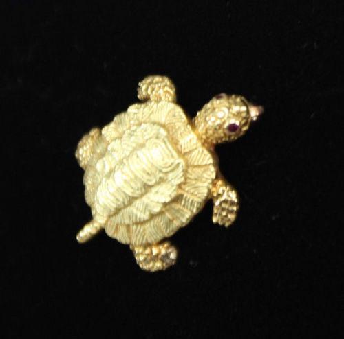 Tiffany-Turtle-Brooch
