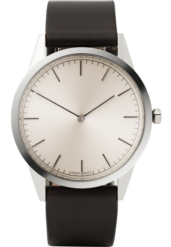 Uniform-Wares-C35-Polished-Stainless-Steel-Watch