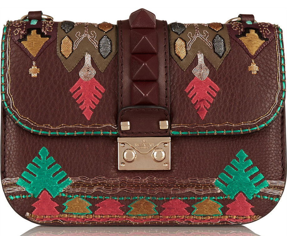 Valentino-Embroidered-Lock-Bag