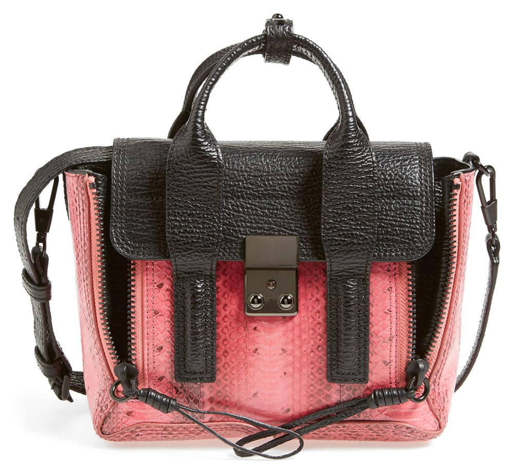 886f342801fd 3.1 Phillip Lim Mini Snakeskin Pashli Bag Was  950