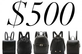 5 Under $500: Little Black Backpacks