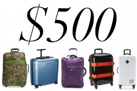 5 Under $500: Suitcases (Because It's Not Too Late for a Summer Vacation)