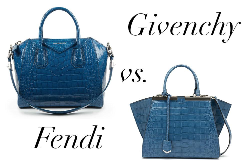 b449b46eeb Bag Battles  Givenchy Alligator vs. Fendi Alligator - PurseBlog