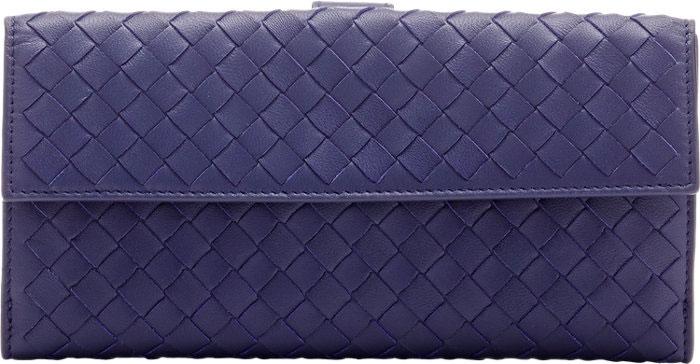Bottega Veneta Intrecciato Continental Wallet, $750 via Barneys