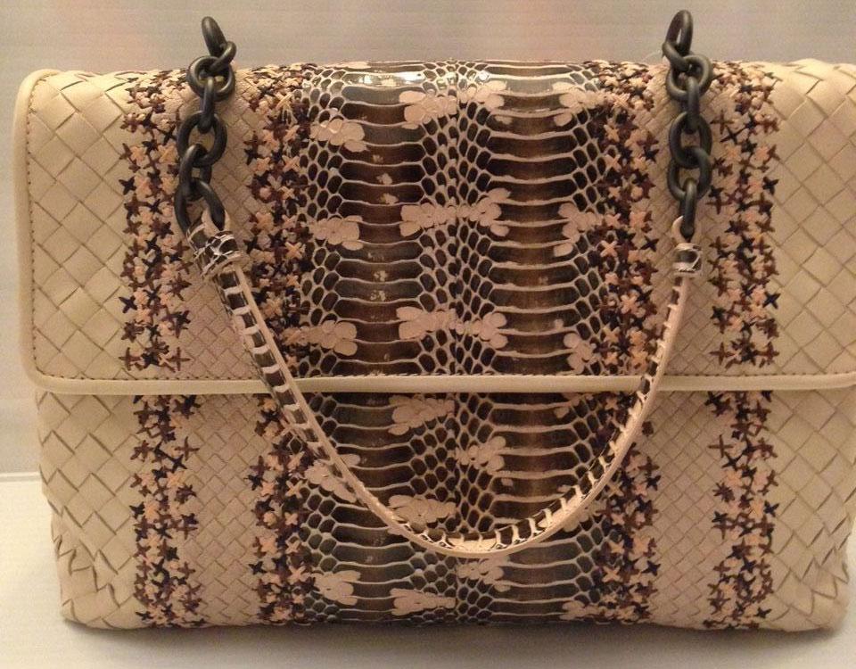 Bottega-Veneta-Olimpia-Snakeskin-Bag