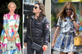 This Week, Celebs Ventured Abroad with Some Choice Bags in Tow