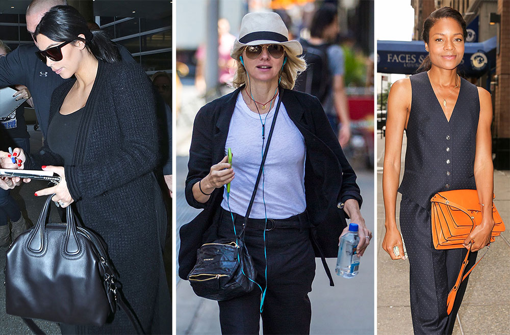 0c8a0bc0c6e2 Givenchy is Clearly the Brand of Choice in Today s Celebrity Handbag Roundup