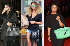 Celebs Carry Choice Bags from Saint Laurent, Roger Vivier, Coach, & More
