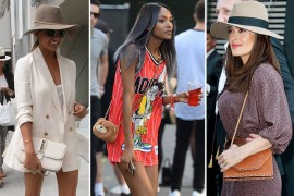 Off-Whites & Neutral Leathers Are in with Celebs This Week
