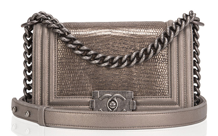 Chanel-Metallic-Lizard-Boy-Bag
