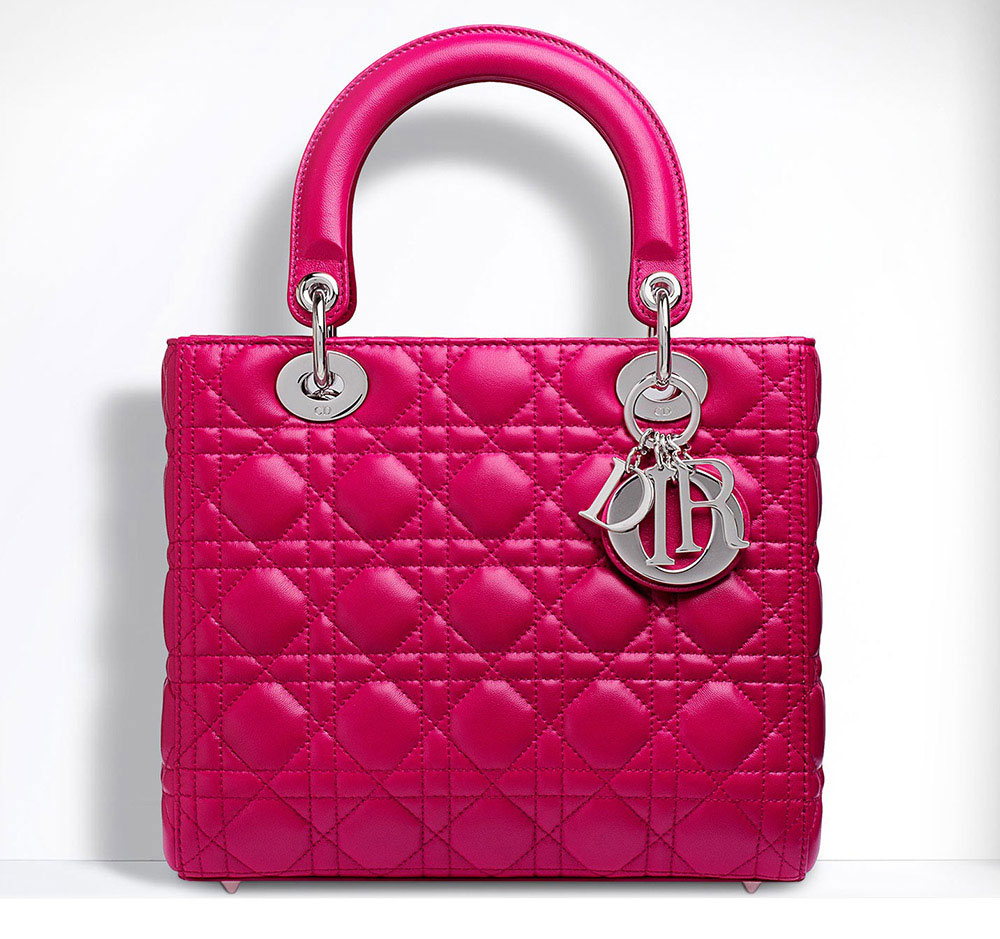 The Ultimate Bag Guide  The Christian Dior Lady Dior Bag - PurseBlog 8a80874ed88b6