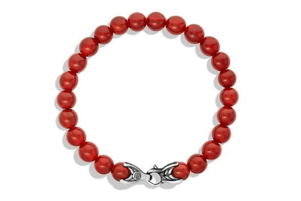 David-Yurman-Carnelian-Bead-Bracelet