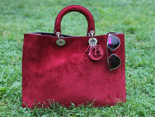 Dior Grand Sac Diorissimo in Plum