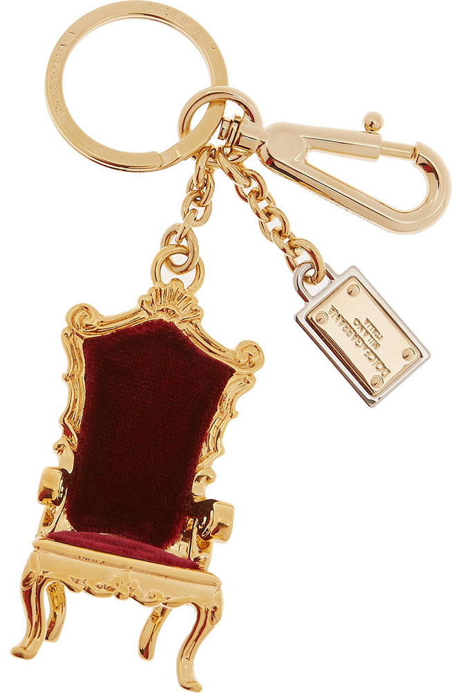 Dolce-&-Gabbana-Velvet-Chair-Bag-Charm