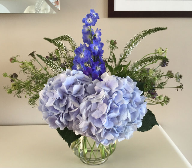 Hydrangea-Floral-Arrangement