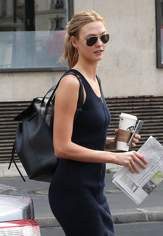 Karlie-Kloss-Mansur-Gavriel-Backpack