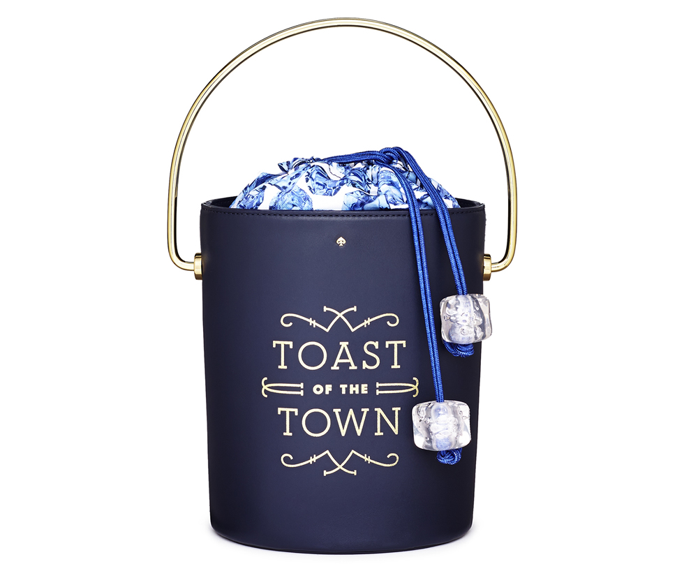 Kate Spade Champagne Bucket Bag