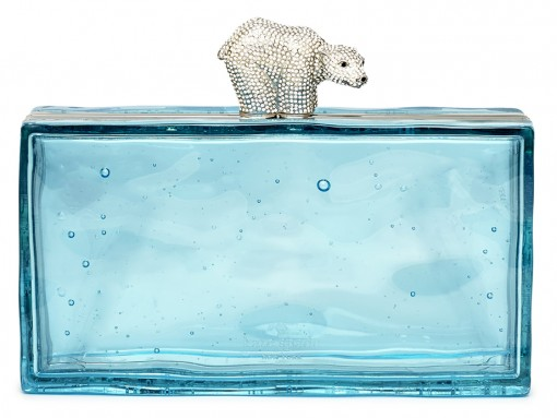 Kate Spade Polar Bear Ice Clutch