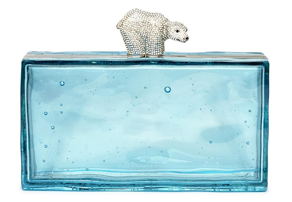 Kate Spade Polar Bear Ice Clutch