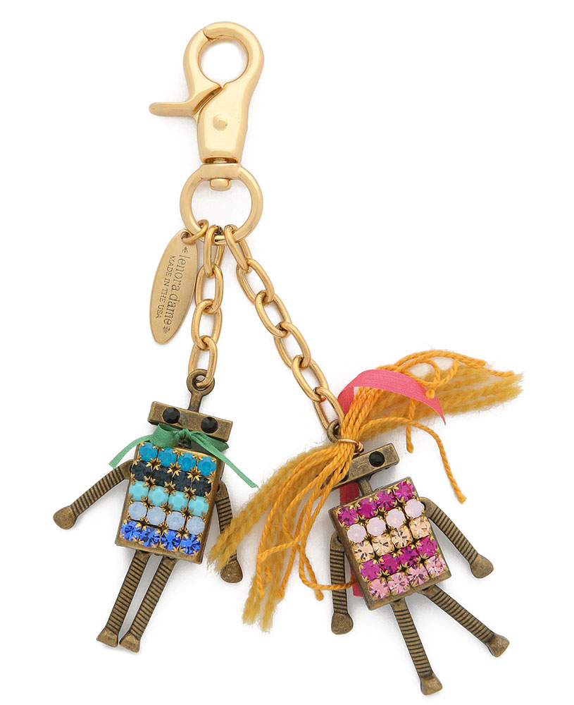 Lenora-Dame-Mr-and-Mrs-Bot-Bag-Charm