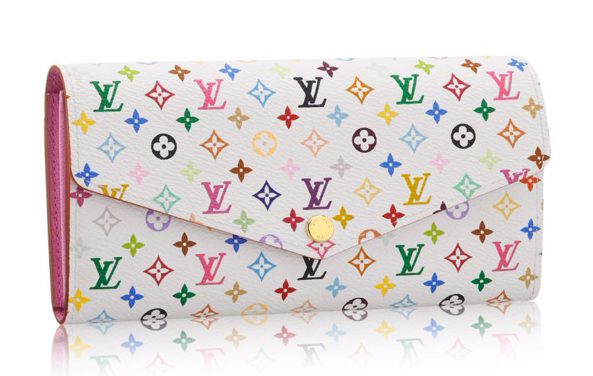 Louis-Vuitton-Monogram-Multicolore-Sara-Wallet