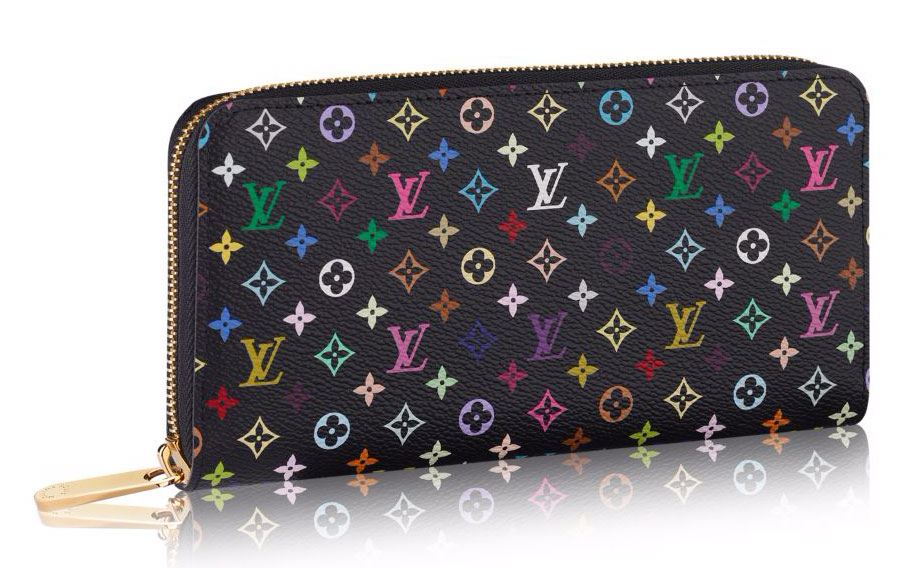 Louis-Vuitton-Monogram-Multicolore-Zippy-Wallet